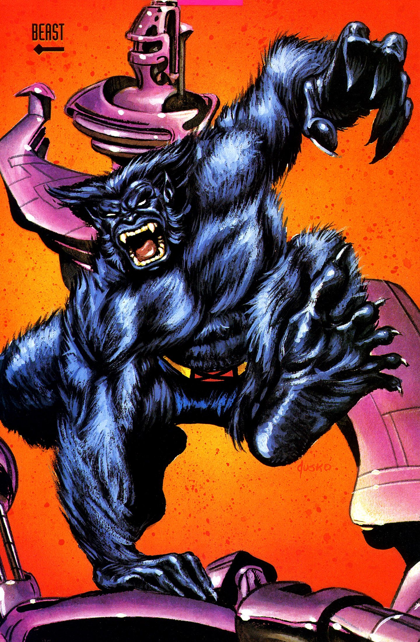 Beast by Joe Jusko