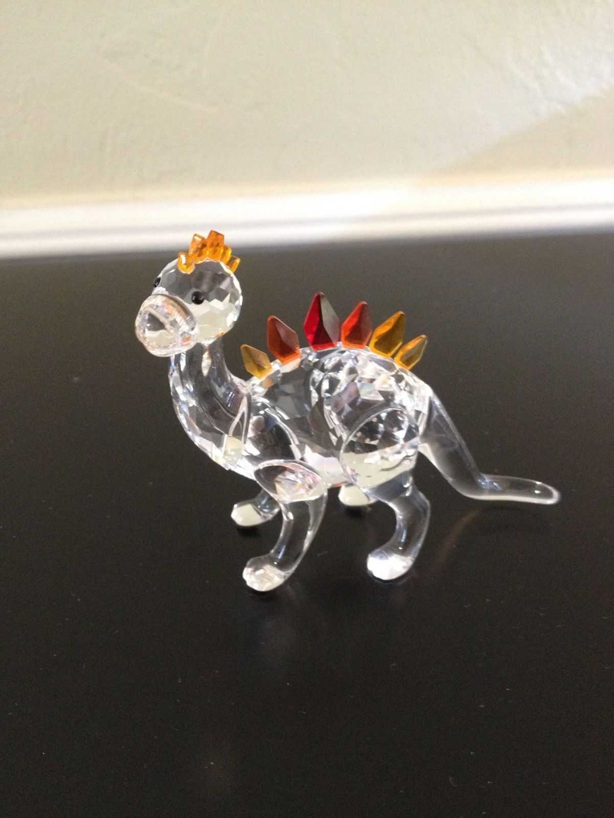 ba5bfff31b69 Swarovski Crystal Dino Dinosaur Figurine Retired 268204 Mint in Box with  Certificate