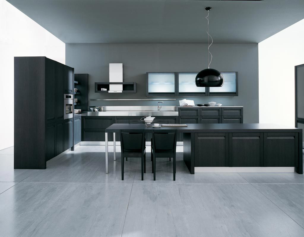 Comfortable And Minimalist Kitchen. CozinhasDesign De Interior ...