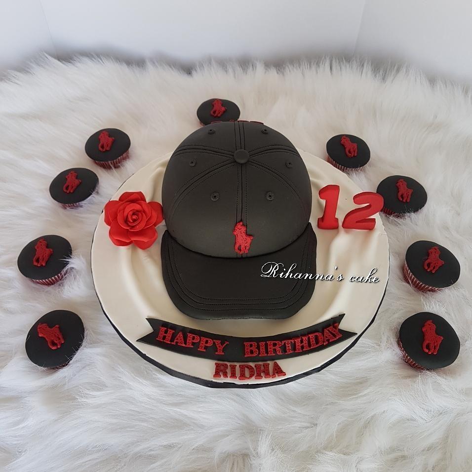 Terrific Polo 3D Casquette Cake Happy Birthday Ridha Funny Birthday Cards Online Kookostrdamsfinfo