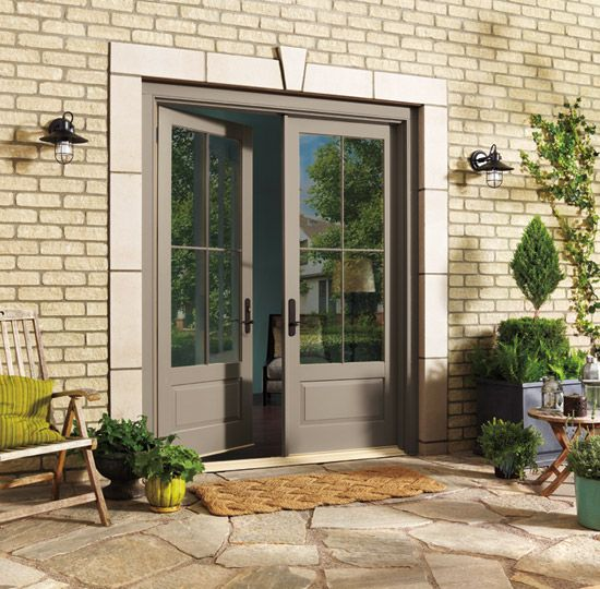 Photo From The Marvin Windows And Doors Gallery French Doors Patio Exterior French Doors Exterior French Doors Patio