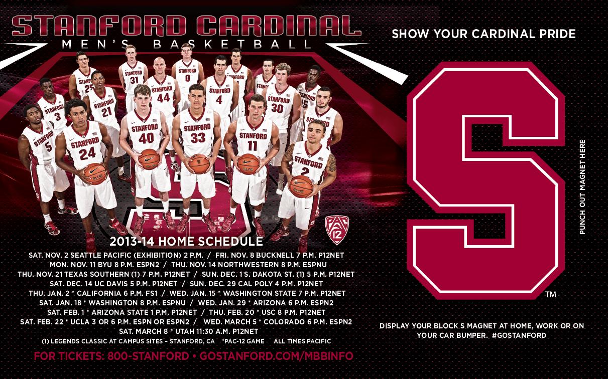 Stanford Men's Basketball (20132014) Stanford
