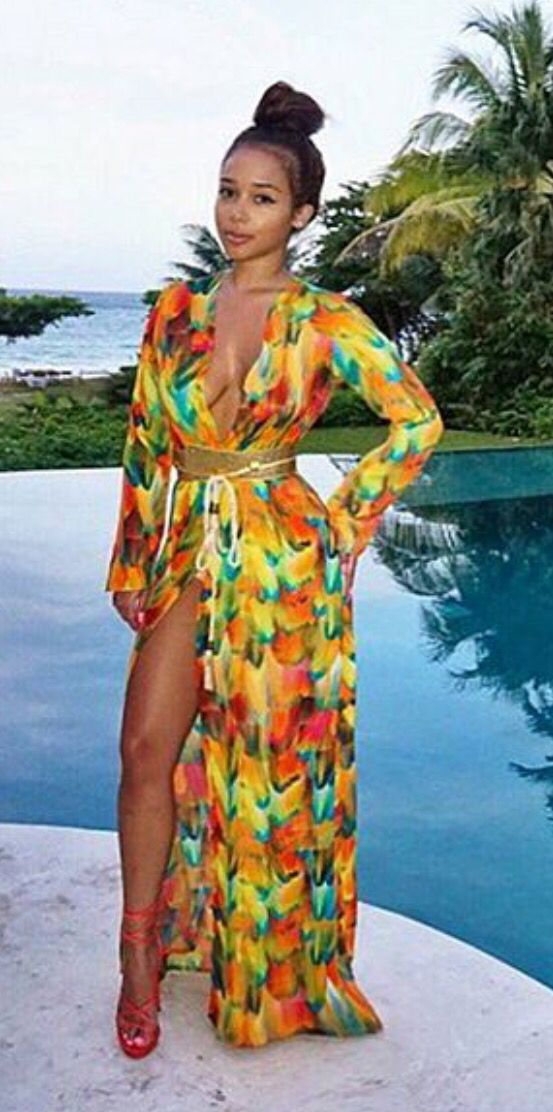 ccf30ea6573 Pinterest: @Mrs Kizzy | Resort Wear!!! | Fashion, Outfits, Vacation outfits