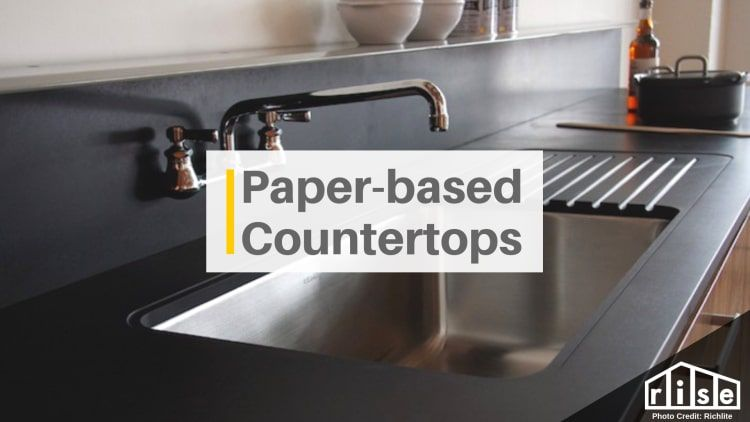 Recycled Paper Countertops Pros Cons