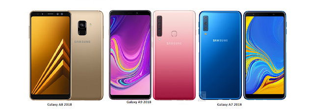 Tspn1 Samsung Galaxy A9 2018 Vs Samsung Galaxy A7 201 スマートフォン