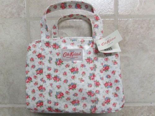 New Tagged Cath Kidston Floral Oilcloth Mini Zip Bag | eBay ...