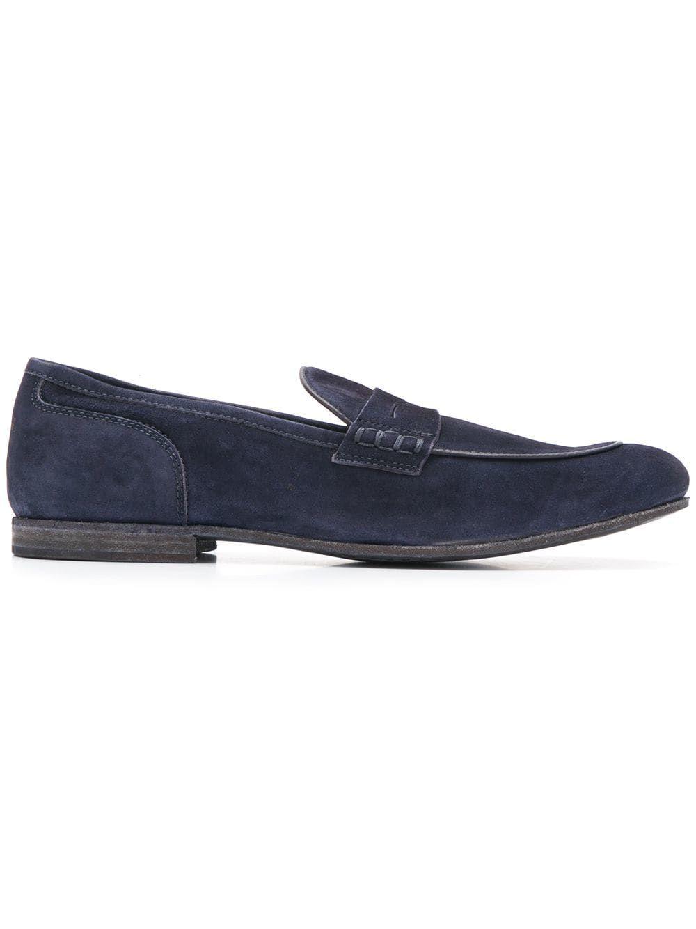 55c2b2bd3a408b OFFICINE CREATIVE OFFICINE CREATIVE BILT LOAFERS - BLUE. #officinecreative # shoes
