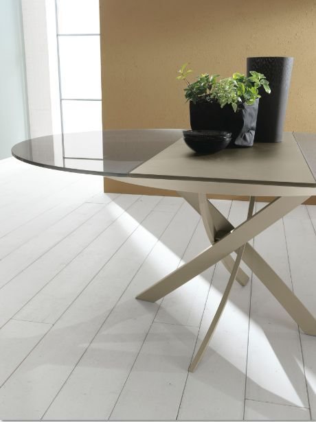 Tavolo barone tavoli moderni allungabili tavoli - Tavoli da pranzo rotondi moderni ...