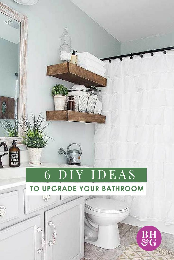 Easy Diy Bathroom Projects Diy Bathroom Decor Bathrooms Remodel