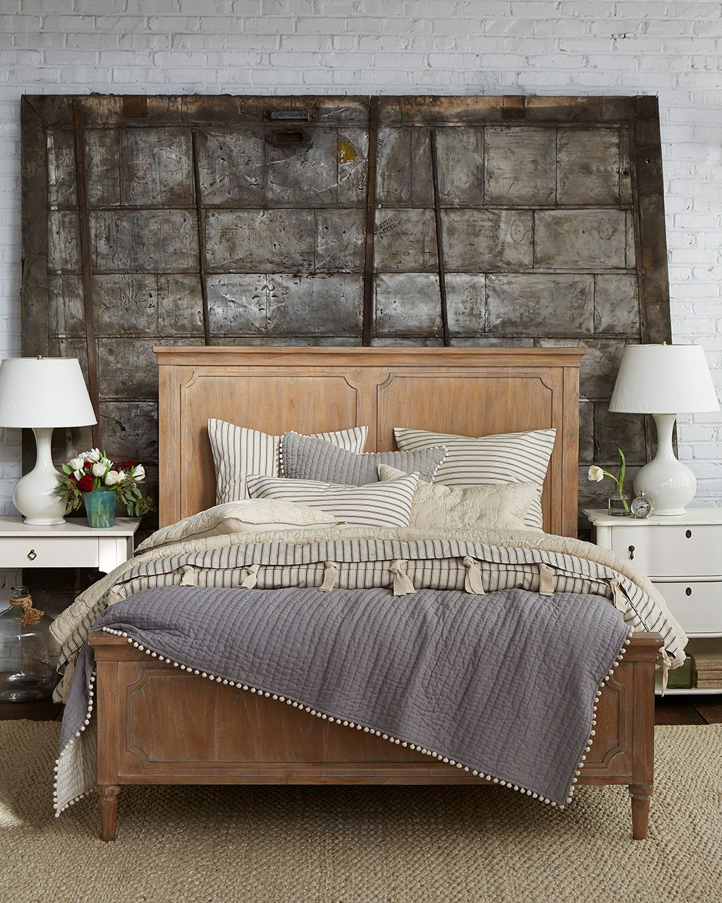 Loft style bedroom ideas  How to Mix and Match Patterned Bedding  Decorating Organization