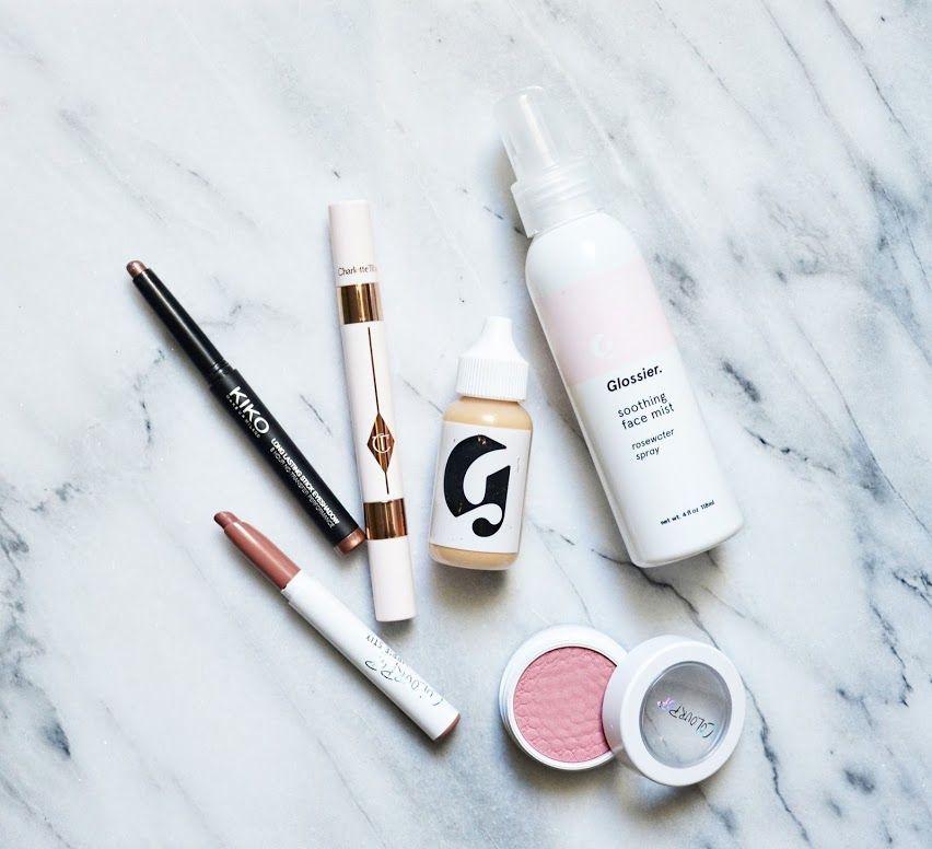 #motd @glossier @charlottetilbury @kikocosmetics @colourpopcosmetics #bblogger #makeup #glossier #charlottetilbury #colourpop #kiko