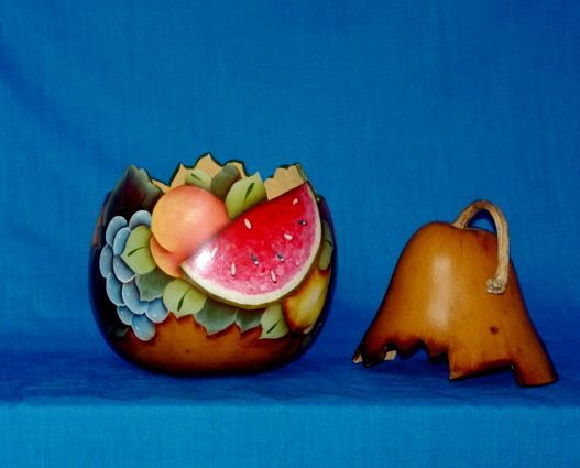 Paint Page: Painted Gourds