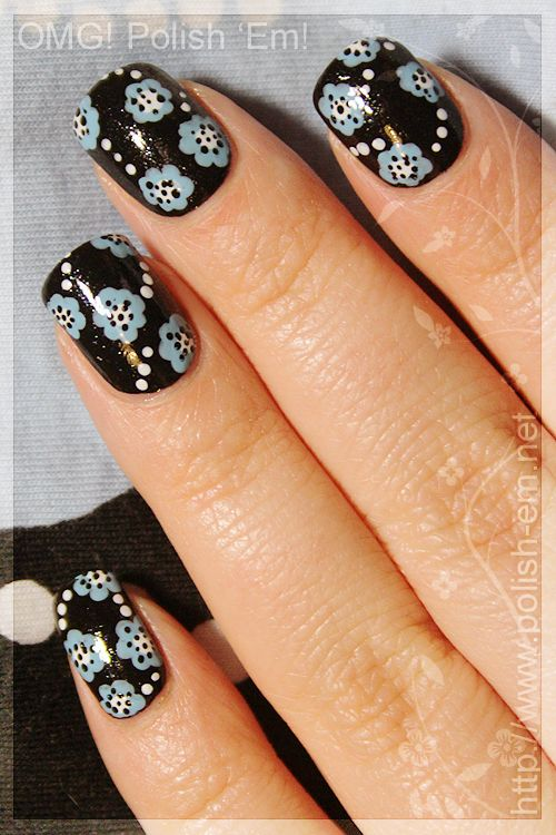 OMG! Polish \'em!: Tutorial: Katie nails   Nails   Pinterest   Nail ...