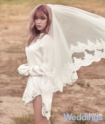 Hyo Sung - InStyle Weddings Magazine July Issue '15