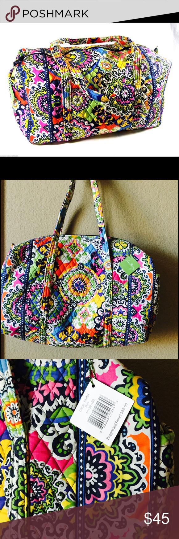 Vera Bradley Rio Large Duffel Bag NWT. Sorry 🚫TRADES🙂 Vera Bradley Bags Travel Bags