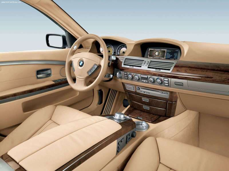 2007 BMW 7 Series 750Li Picture Interior