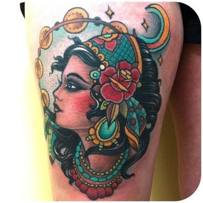 Cool Classic Gypsies Tat