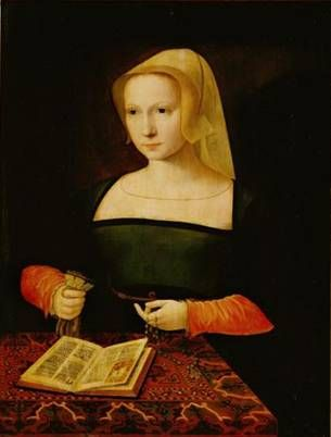 A Young Woman, ca. 1550 (Master of the Female Half-Figures) Kunsthistorisches Museum, Wien GG_998