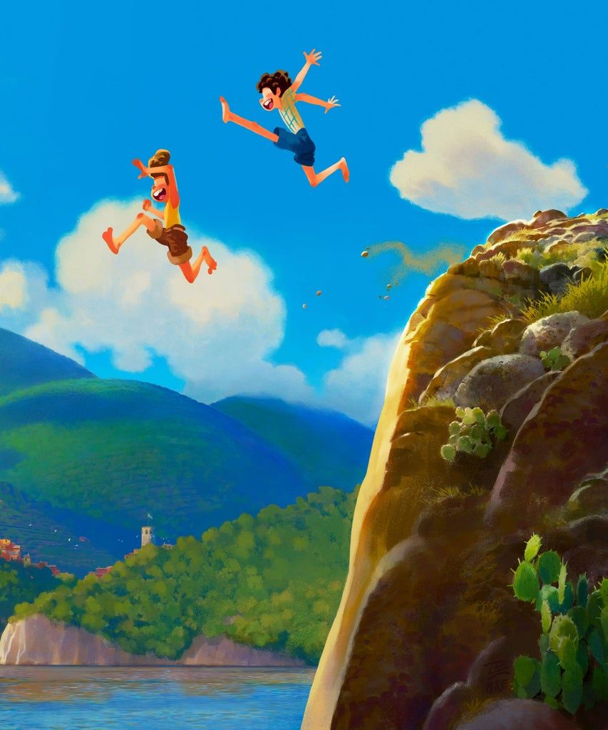Disney Pixar's Luca Looks Like The Summer In Italy You Wish You Had This  Year | New animation movies, Pixar, Disney pixar