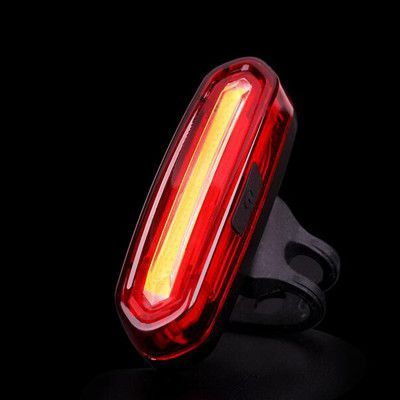 Outdoor Bike Bicycle Cycling Brake Light LED Tail Light Safety Warning-Lamp New