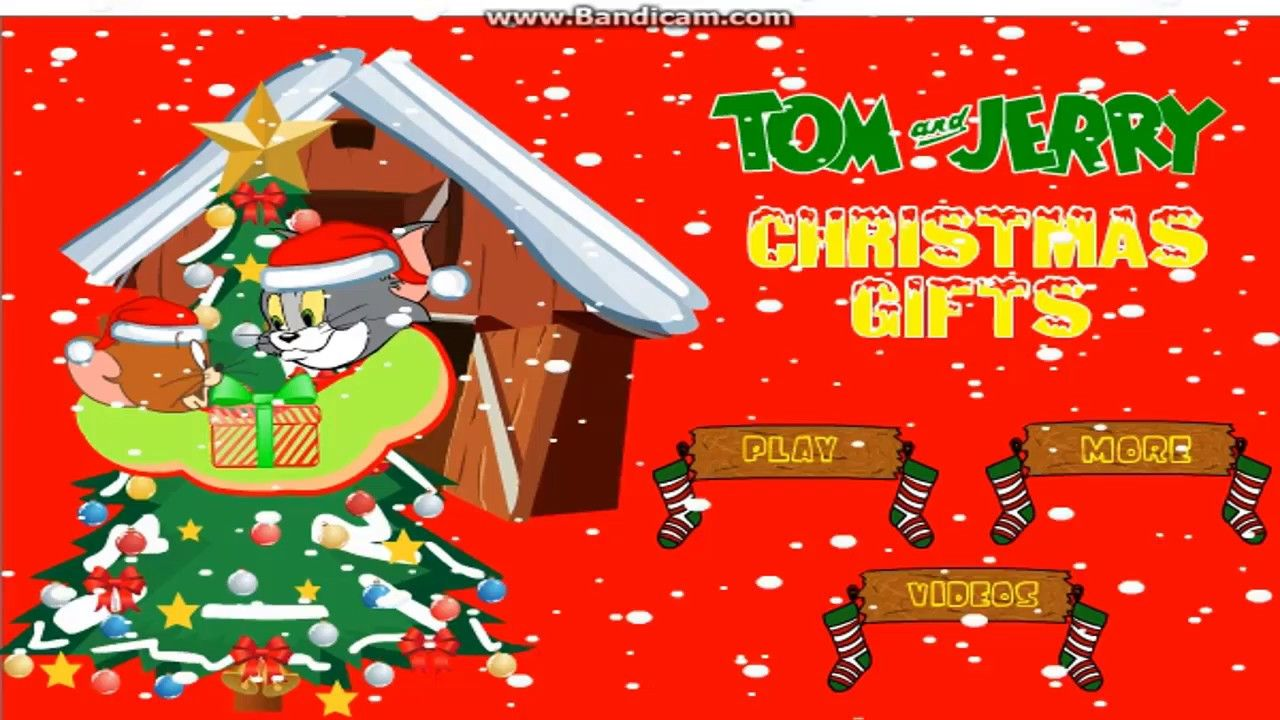 Tom jerry christmas gifts Tom and Jerry Games Cartoon Games Cartoon ...