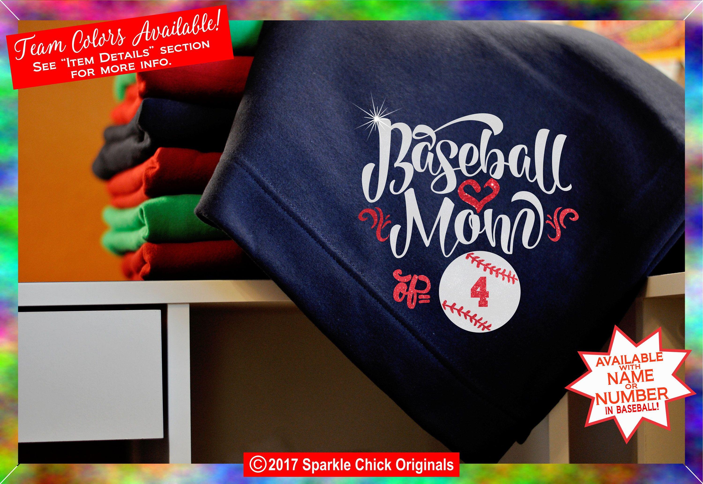 Baseball mom blanket baseball blanket baseball gift etsy