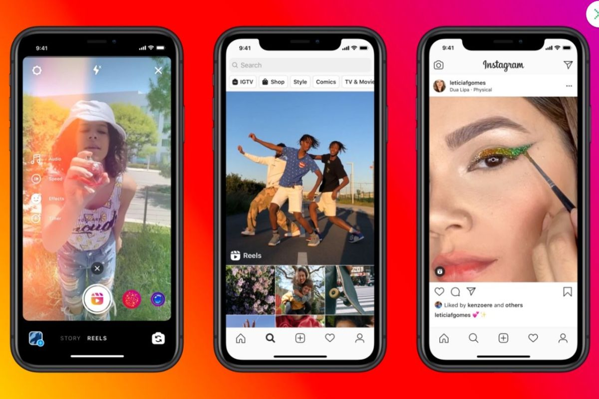 Blog Instagram Adds Tiktok Style Feature Reels But Only Some People Can See It The Sun Instagram Instagram Update Video App