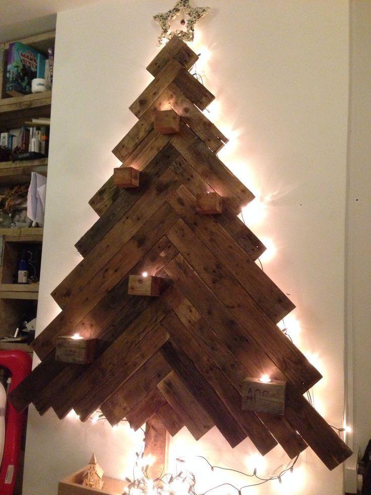 Ideas DIY, Arboles de Navidad en madera Decorar tu casa, Madera y