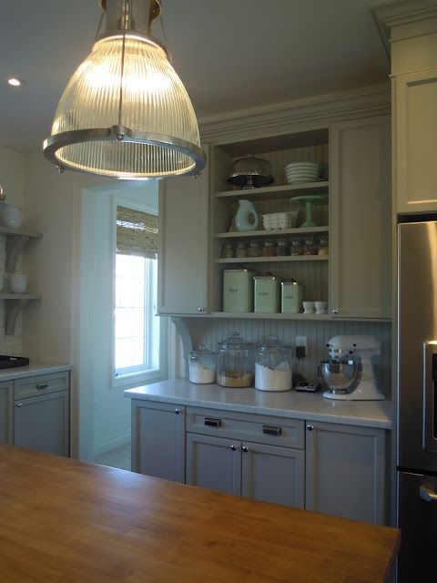 Just beachy: Our bedford grey kitchen