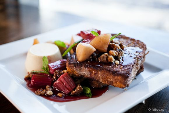 Sweet Brioche Pain Perdu - French toast with red wine ...