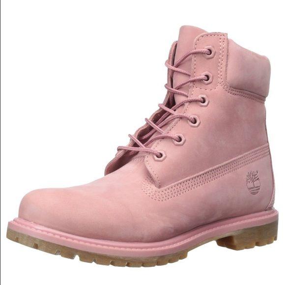 timberland dusty pink