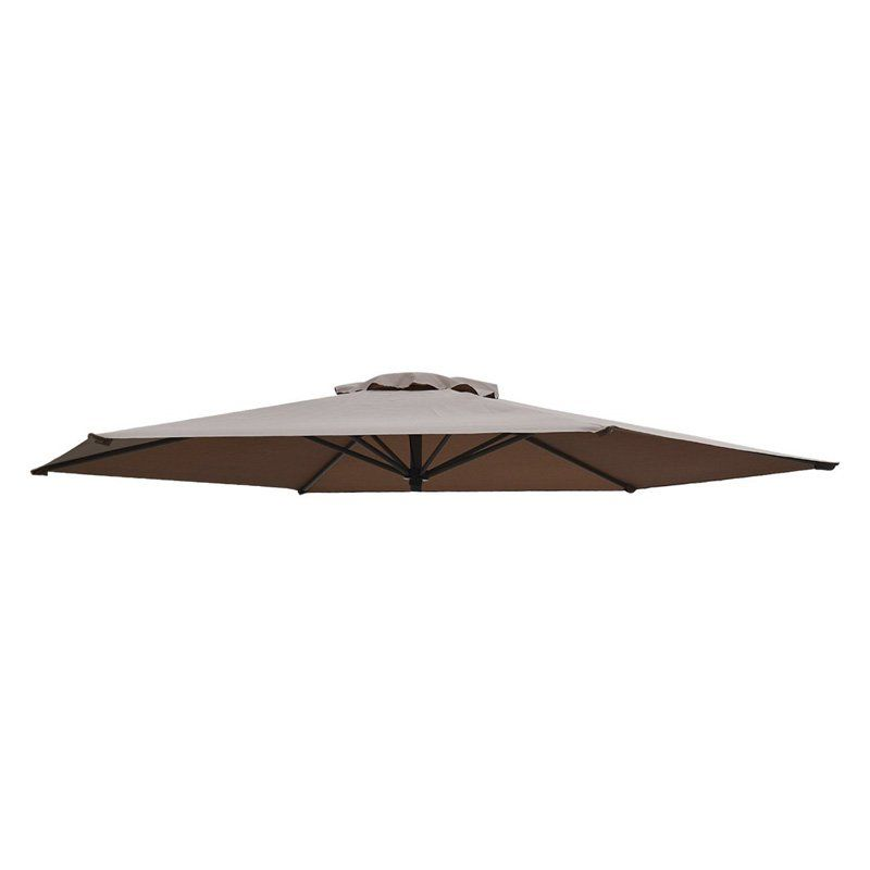Sunrise 8 Ft. Patio Umbrella Replacement Canopy Cover Taupe   UC 10 TAUPE