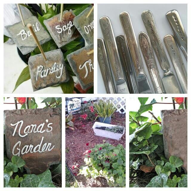 Slate Hand Cut Marker Labels Gift Tags Label Garden Wedding Tag Vegetable Patch