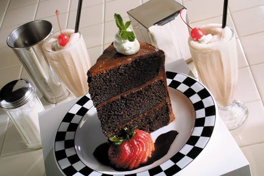 Seriously Big Chocolate Cake From Cap City Fine Diner And Bar In Gahanna Oh Find Out Which Restaurants And Menu Items Are A Food Big Chocolate Comfort Food