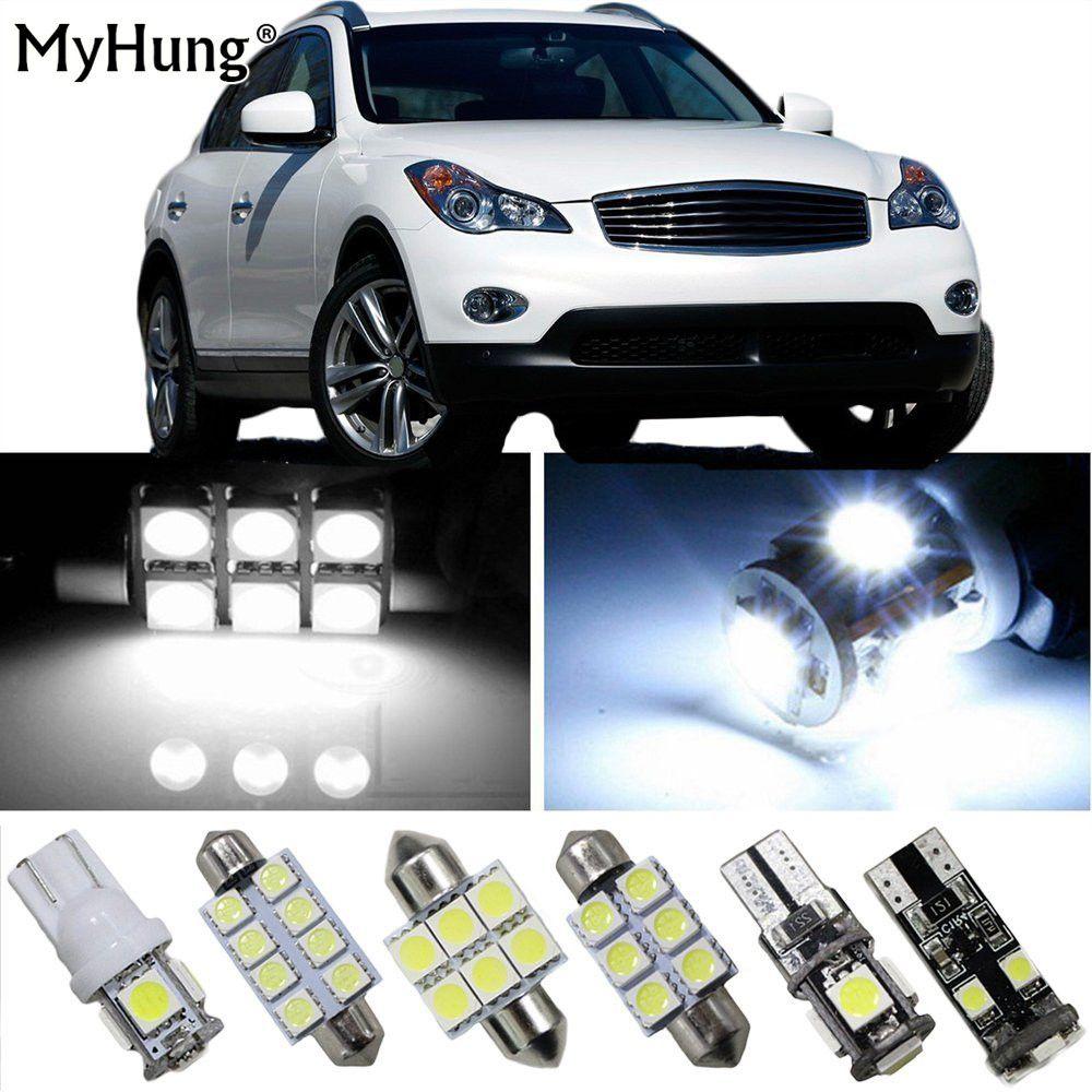 For Infiniti Jx35 G37 Ex25 Ex35 Fx35 Fx37 Fx50 Car Led Headlight