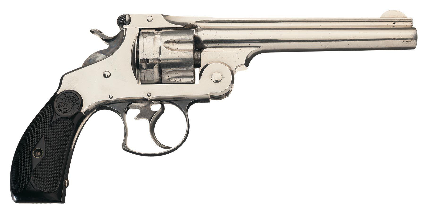 Smith & Wesson 44 DA Revolver 44 Russian   Firearms 1850-1920   Hand