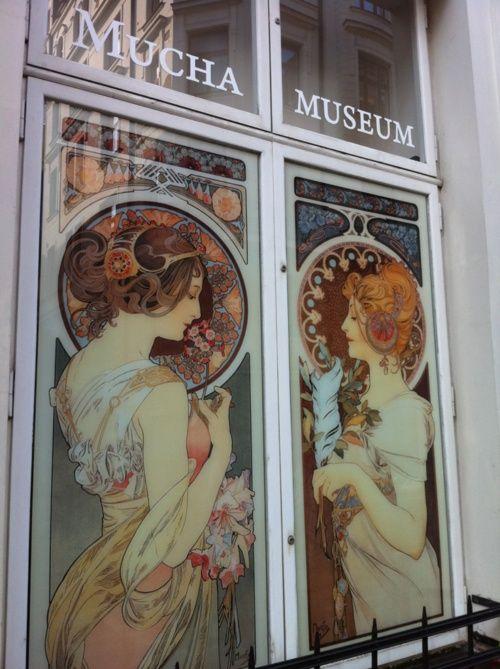 art nouveau artist Alphonse Mucha museum in Prague