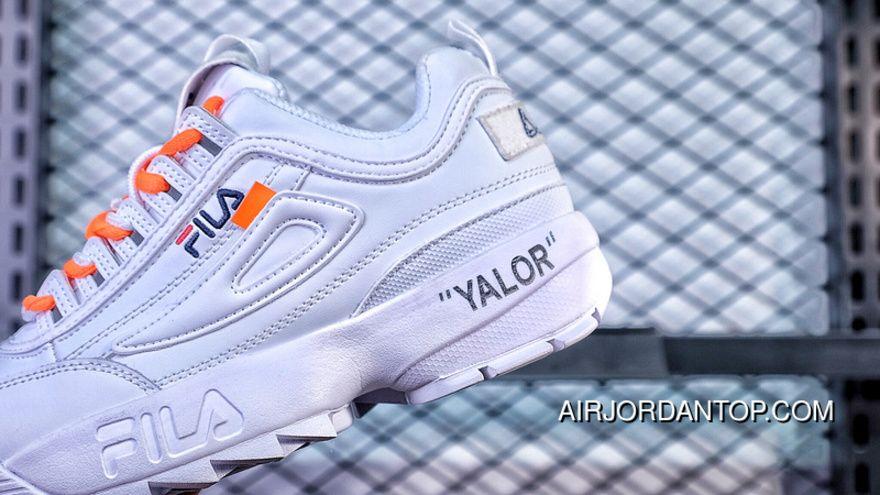 FILA Offwhite Disruptor II 2 League FW0165-111 X | hot shoes ...