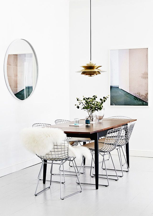 La Chaise Diamond De Harry Bertoia Blog Deco Deco Salle A