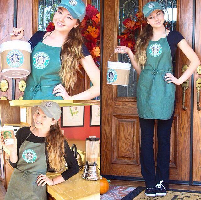 starbucks barista halloween costume