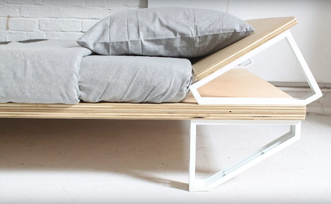 Genius The Secret To This Modern Bed Is Hiding On Your Shelf Murphy Bed Plans Murphy Bed Homemade Beds