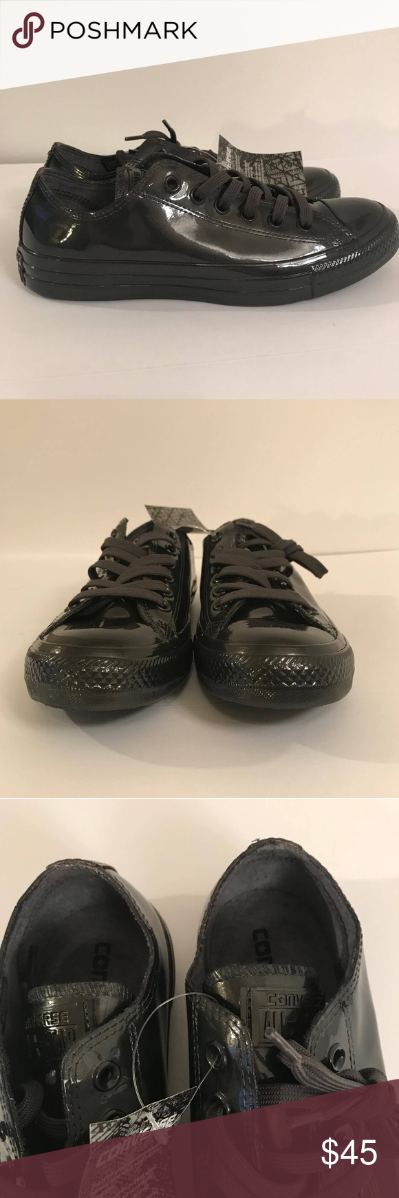 0849700b34db Converse All Star Metallic Rubber OX Black Pearl Pair of brand new Rubber  Converse Chuck Taylor. No original box. Metallic Rubber