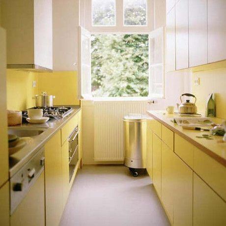 Cucina colore giallo fieno tendenze moderne | Interni della ...