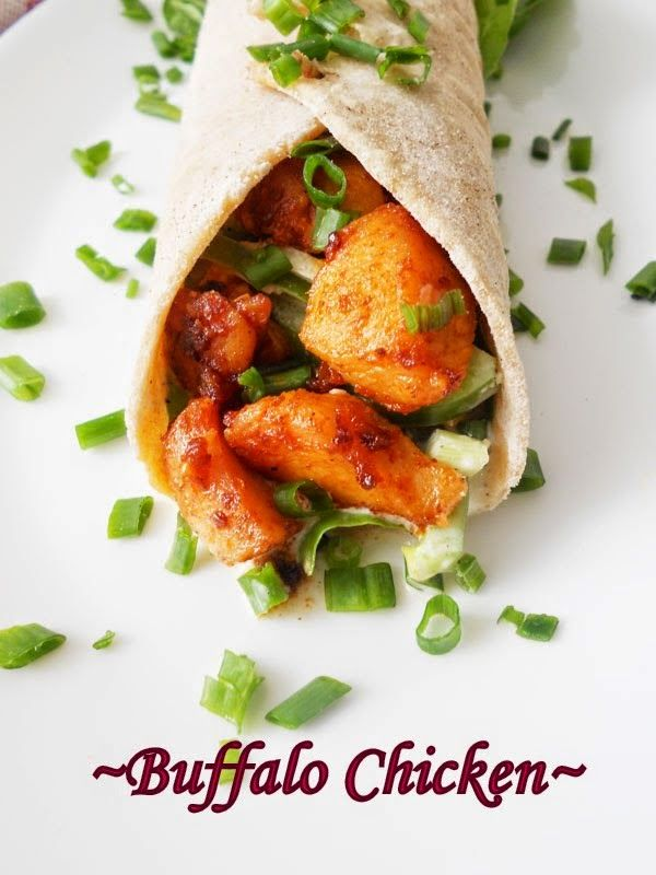 Cooking Is Easy: Buffalo Chicken Wraps....step by step.