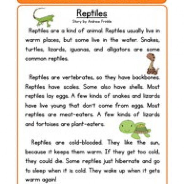reptiles life science reading comprehension worksheet cartel science worksheets. Black Bedroom Furniture Sets. Home Design Ideas