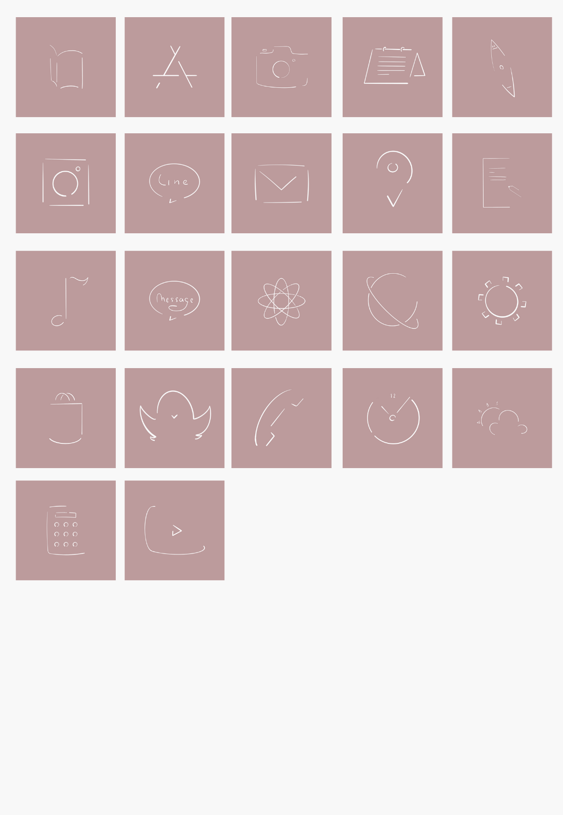Ios14 Pink Line 2021 アイコン素材 アプリ Iphone アプリアイコン