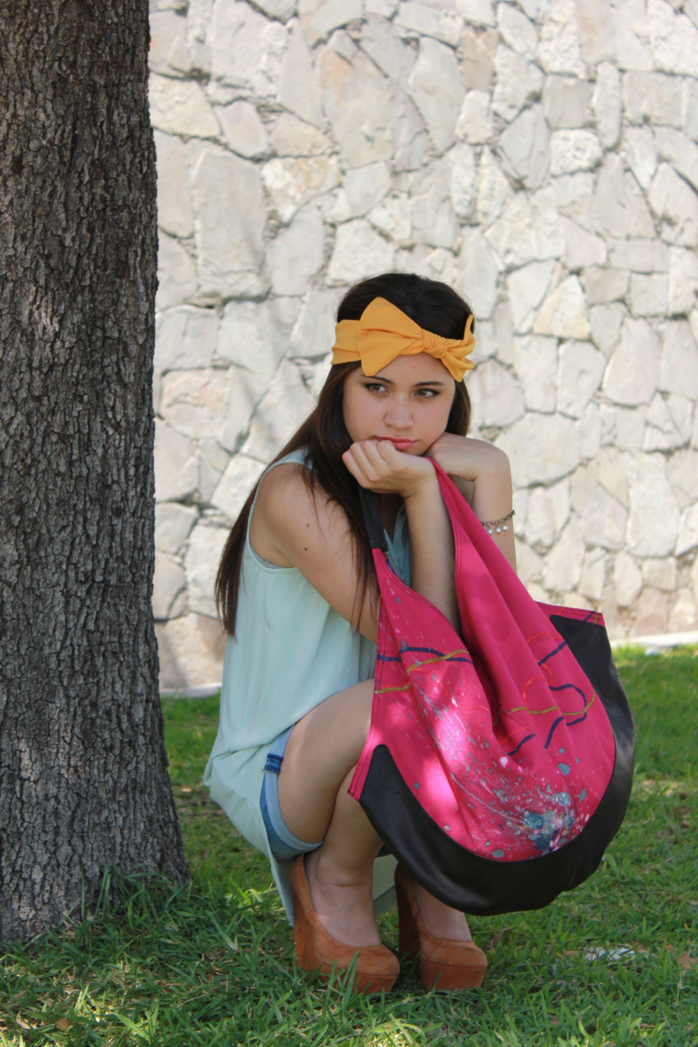Headband and Bag by Pachamama
