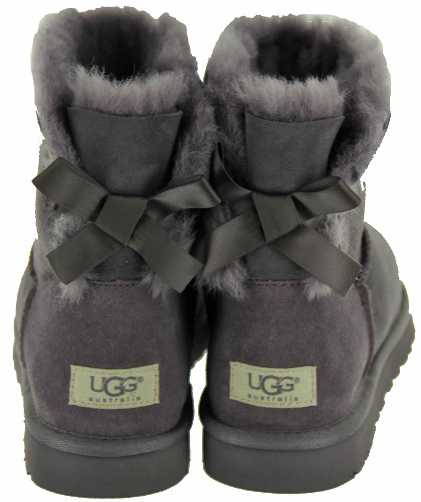 mini bailey button ii; bailey bow uggs grey viewing gallery
