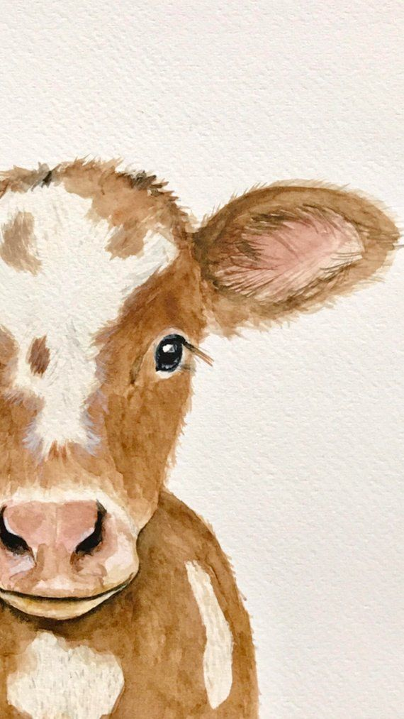 Farm nursery decor cow print baby farm animals Bab
