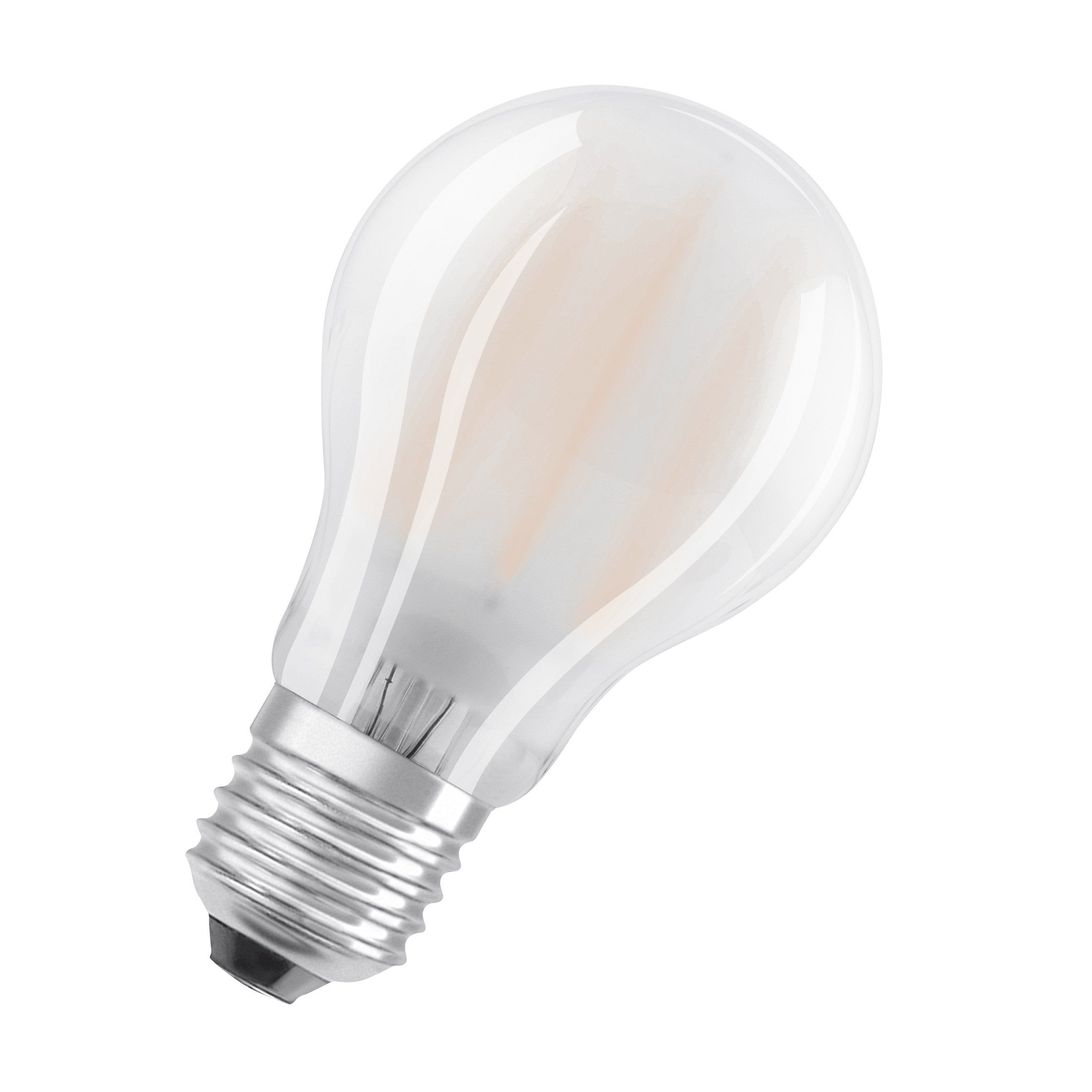 Lot De 2 Ampoules Led Dépoli Standard E27 1521 Lm 100 W